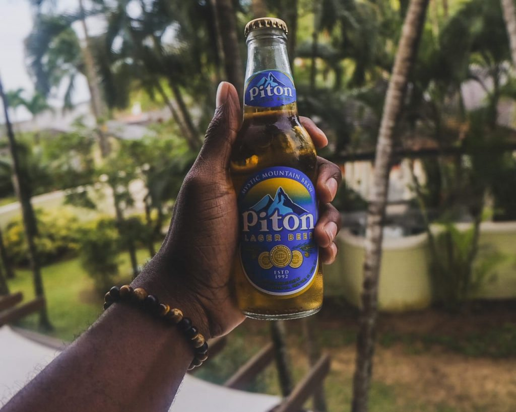 Pitons Beer